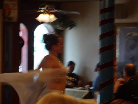 Greek Islands Restaurant INC : A dancer to who was charming!