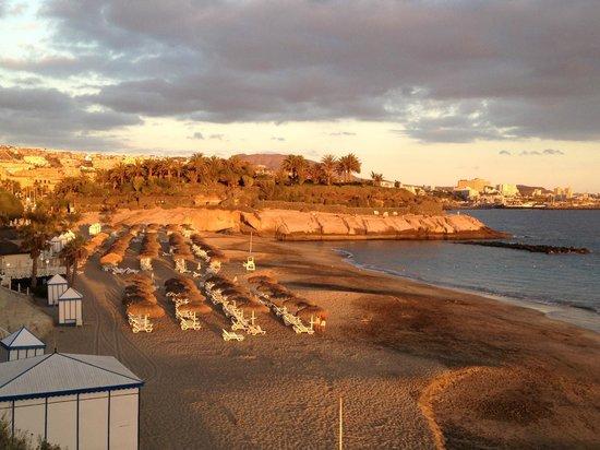 IBEROSTAR Grand Hotel El Mirador: Aussicht Playa del Duque