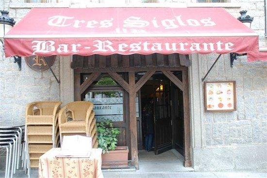 Restaurante Tres Siglos, Ávila.