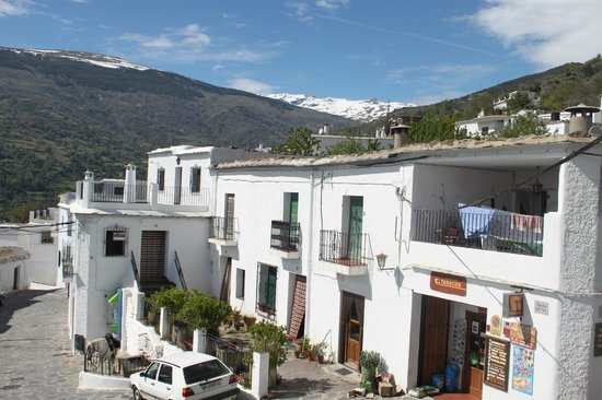 Las Terrazas de la Alpujarra: view from our room