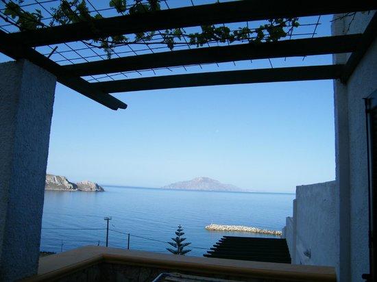 Finiki View : Panorama dal terrazzo della nostra camera