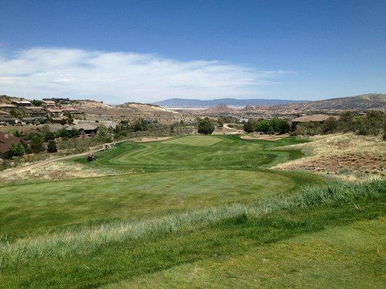 Prescott Lakes Golf & Country Club: Tee Box View