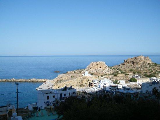 Finiki, Grèce : Panorama dall'ingresso della nostra camera