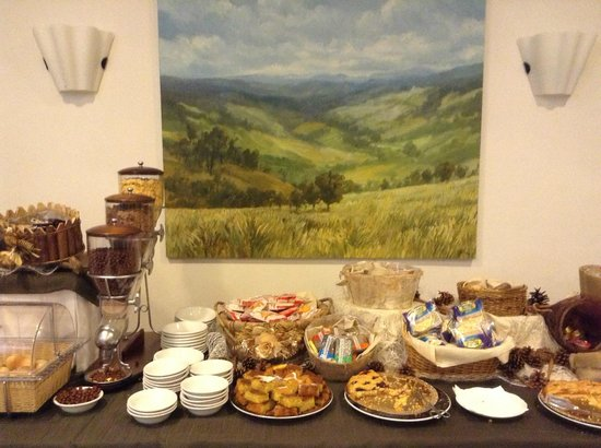 Hotel La Terrazza: part of the breakfast buffet