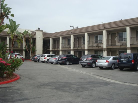 Anaheim Express Inn: view of the rooms