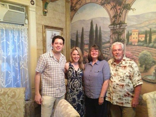 The Canon City Queen Anne: With our lovely hosts, The Ballards