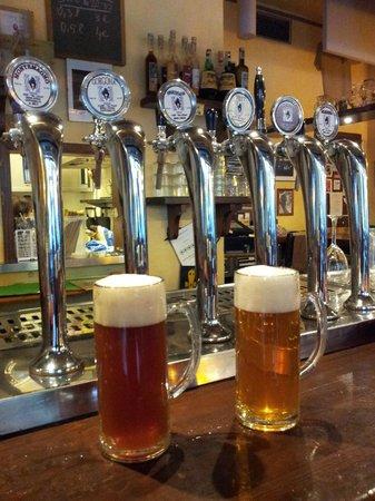 Orzo Bruno : Mmmm...beers