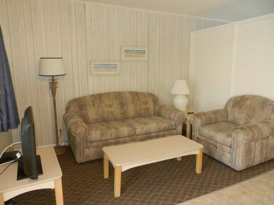 Bonita Beach Resort Motel: coin salon