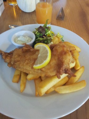 Blagdon Inn: Best Fish and Chips