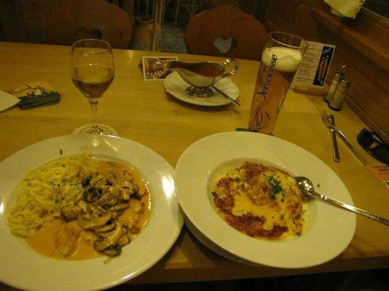 Lukullum: Allgauer Kaseschnitzel