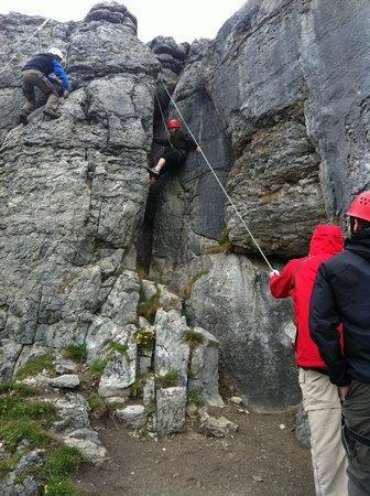 Ben's Surf Clinic: More Rock Climbing