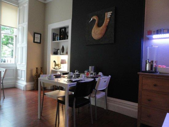 Ramsay's B&B: The breakfast room