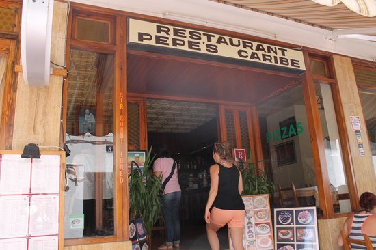 Restaurante Pepe Caribe: l'ingresso