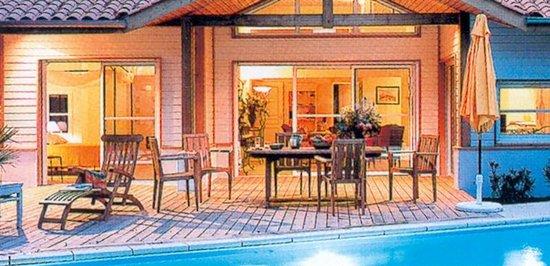 Madame Vacances Villas La Prade: Soirée dans une des Villas La Prade