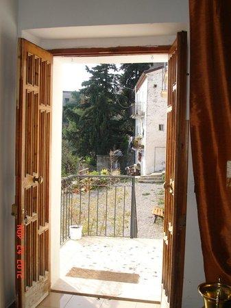 Casa Miraglia: Ingresso dall'interno