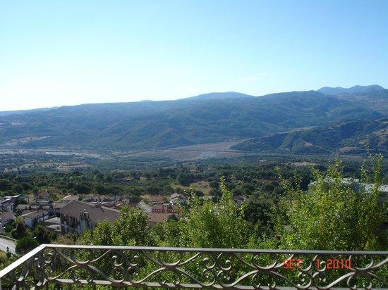 Casa Miraglia: Panorama sud