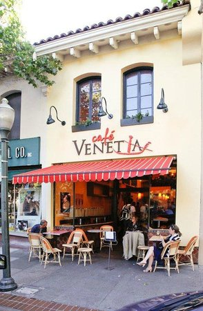 Cafe Venetia  University Ave Palo Alto Ca