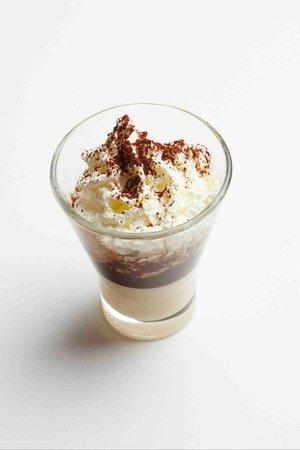 Cafe Venetia: Cremino: Chocolate or caramel, espresso, and whipped cream. At Café Venetia, Palo Alto