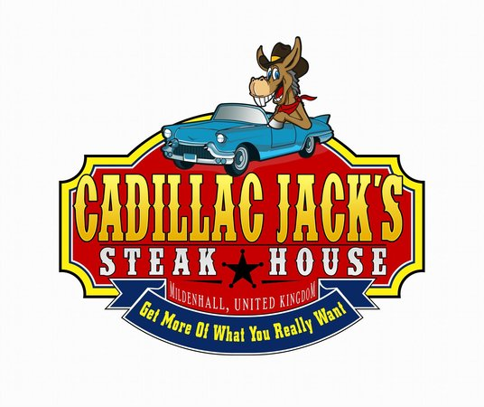 Cadillac Jack's American Steakhouse: Logo