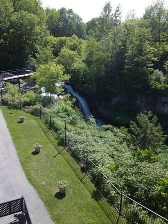 The Falls Inn & Spa: view from balcony