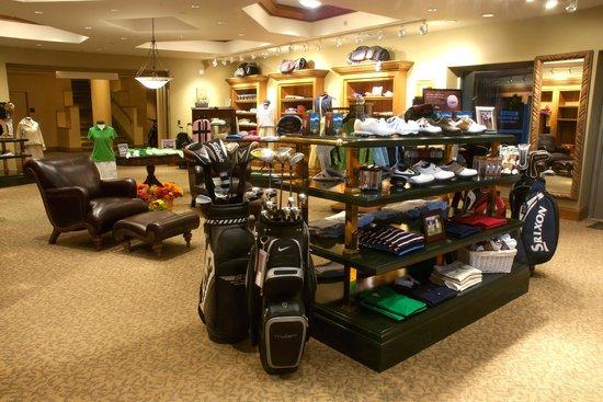 ad0992522d43 Telluride Ski   Golf Club  Inside the pro shop at the Telluride Golf Club