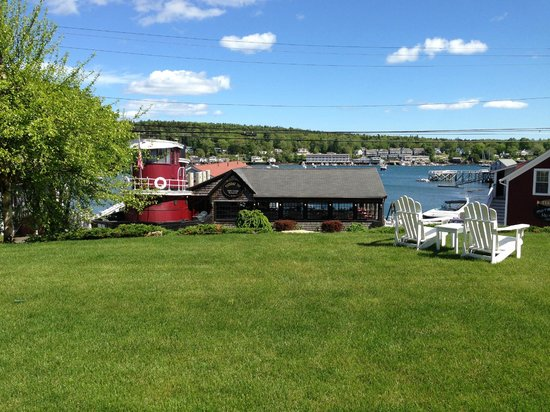 Greenleaf Inn at Boothbay Harbor: HARBOR VIEW