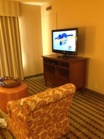 Homewood Suites Pensacola-Arpt (Cordova Mall Area): Living room