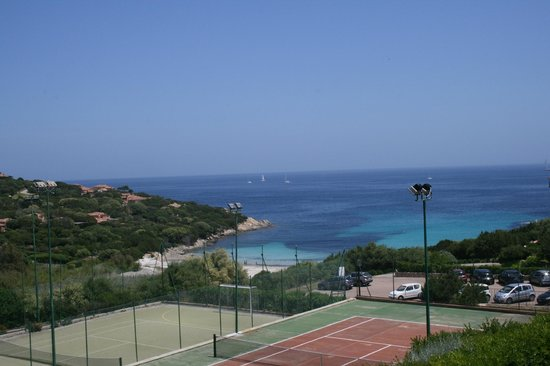 Grand Hotel in Porto Cervo: A view from our suite and near Orange Restuarant