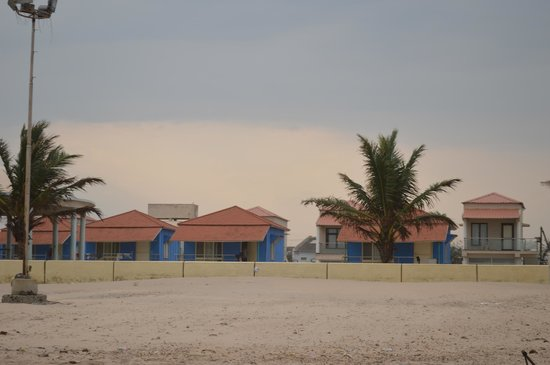 Bapatla, Hindistan: Beach facing rooms