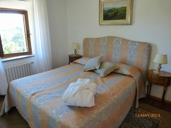 Villa Scacciapensieri: Bedroom