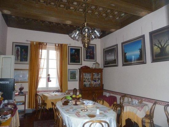 Anna Hotel: la sala della colazione