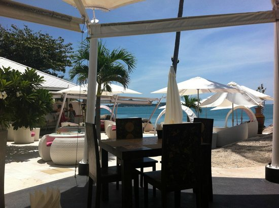 Beluga Boutique Hotel: View from Restaurant