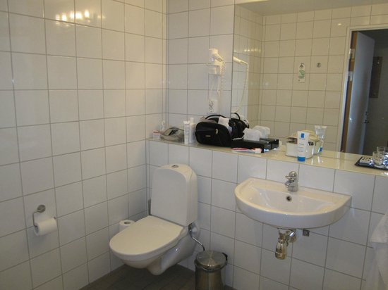 BEST WESTERN PLUS Hotel Mektagonen: Rymligt badrum