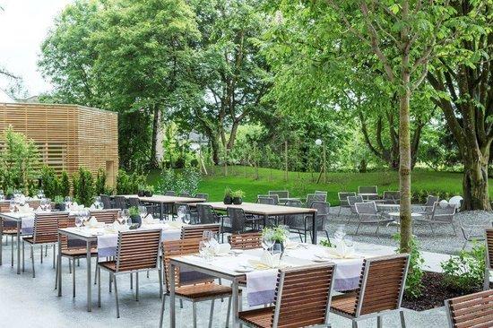 Hotel Schwärzler: Garten
