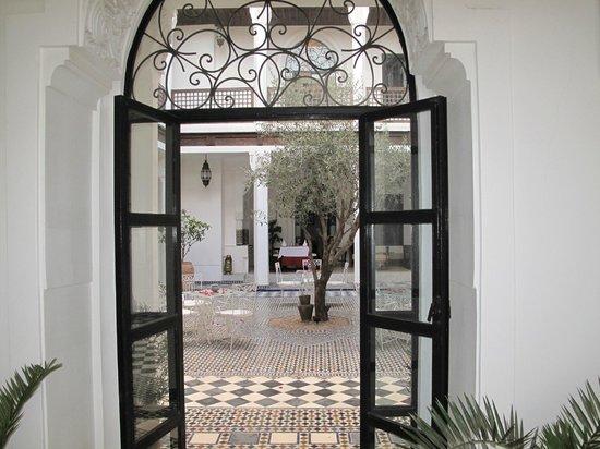 Bellamane, Ryad & Spa: Vue Riad