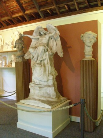 Chesterwood Museum : A tiny fraction of the sculptures created by French during his long career