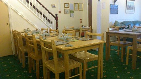 Greystones Hotel: Breakfast area