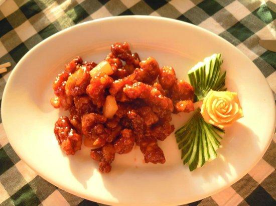 Mandarin Chinese Restaurant: sweet and sour pork