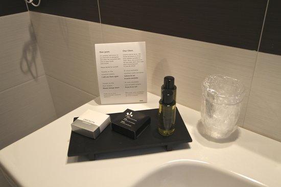 Andrea Doria Resort : prodotti di cortesia