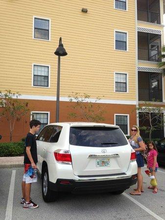 Caribe Cove Resort Orlando: Estacionamento