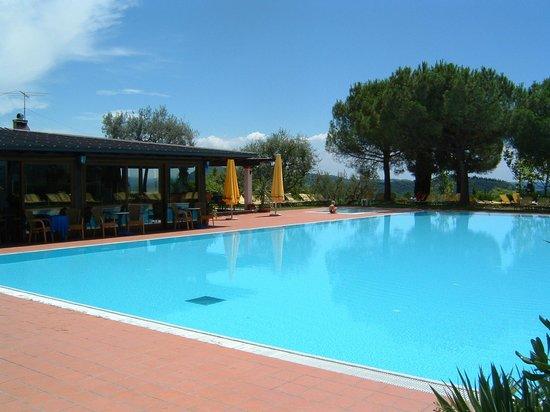 Ristorante San Michele : Ristorante con mega piscina