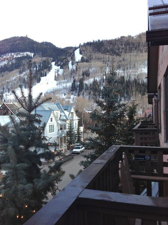 The Hotel Telluride: view from balcony