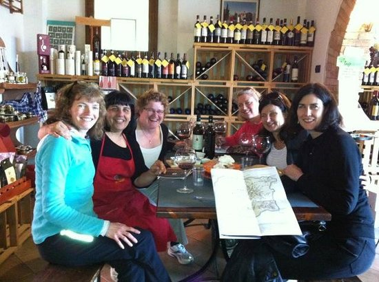 Enoteca Fontepetri: Lunch with Francesca