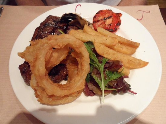 Lazenby's on York Place : 10 oz. Sirloin Steak
