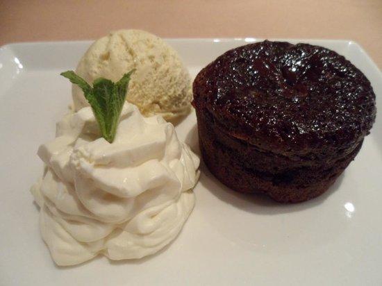 Lazenby's on York Place : Chocolate Fondant