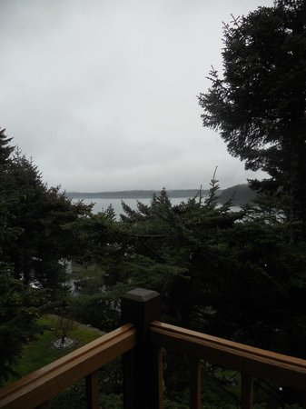 A Channel View B&B: View from the Apartment deck