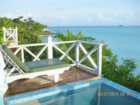 Cocobay Resort : View from Cabin #11