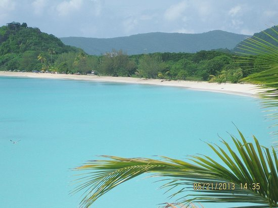Cocobay Resort: View from Cabin 11 - Paradise!
