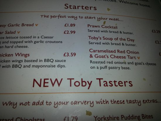 Toby Carvery Exeter - Picture of Toby Carvery, Exeter ...