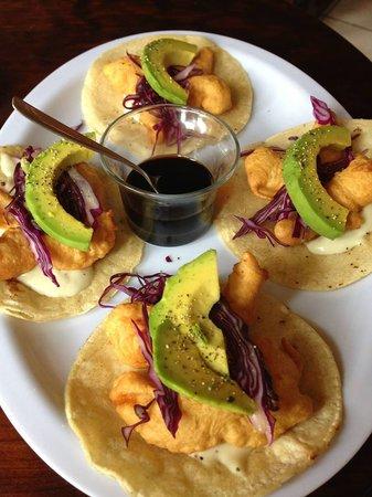 Cactus: Tempura shripm tacos... delicious!!